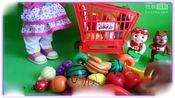 益智玩具熊出没熊大熊二一起吃水果,水果连连看 樱桃小丸子 小羊肖恩