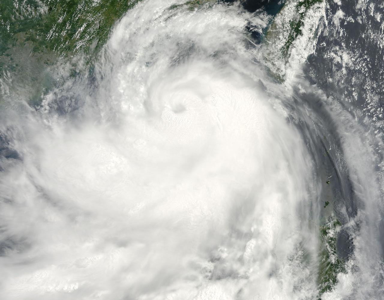 2009年台风莫拉菲雷达影像动画