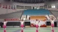 2017年体彩杯河南省站点联赛洛玻广场健身气功站点获得马王堆一等奖