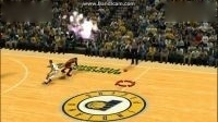 NBA2K14詹姆斯罚球线扣篮