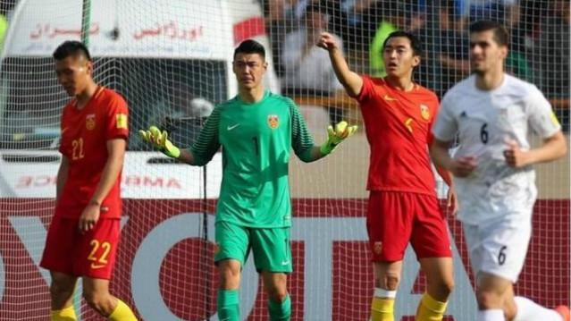 中国VS伊朗 国足0-1惨败