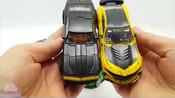 变形金刚汽车人擎天柱_大黄蜂_猎犬漂移_汽车机器人_汽车变身玩具【俊和他的玩具们_1