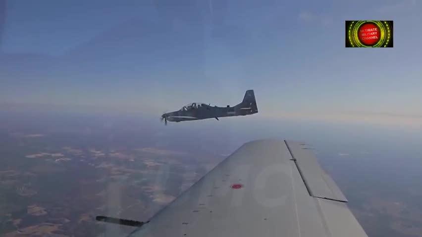 A-29轻型战机 美军的利器