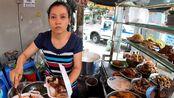 在越南吃个快餐要6万5越南盾,折合人民币20块左右,跟中国差不多了