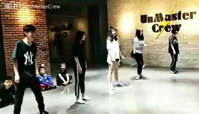 福清大风车街舞 成人hiphop