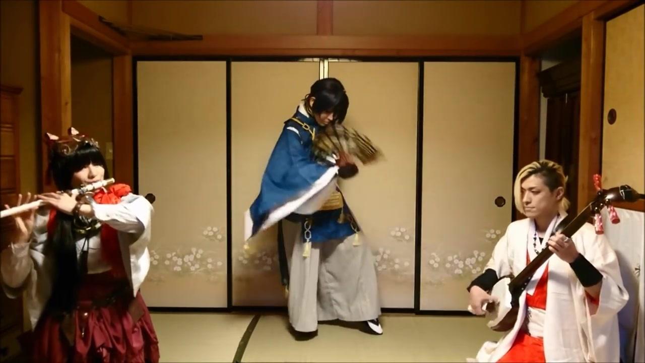 【篠笛x三味线】投稿2周年!三日月宗近 『 極 楽 浄 土 』歌舞演奏