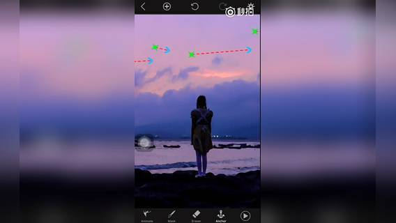 果粒橙先生教大家,如何用手机将一张静态的图片制作成动态10秒视频的效果。 转发点赞圈2好友送poltagraph软件苹果手机版 PS教程