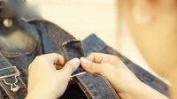 背带裤扣教程