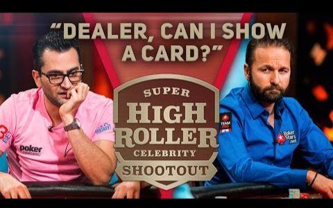 【德州扑克】魔术师企图用亮牌搞崩丹牛的扑克脸 but结果却是......
