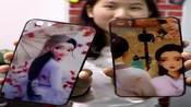 眼影盘手机保护壳苹果7plus手机保护壳i7钢化玻璃6全包8创意衰败城市i6splus情侣秀恩抖音ins保护套naked3修容盘女款5