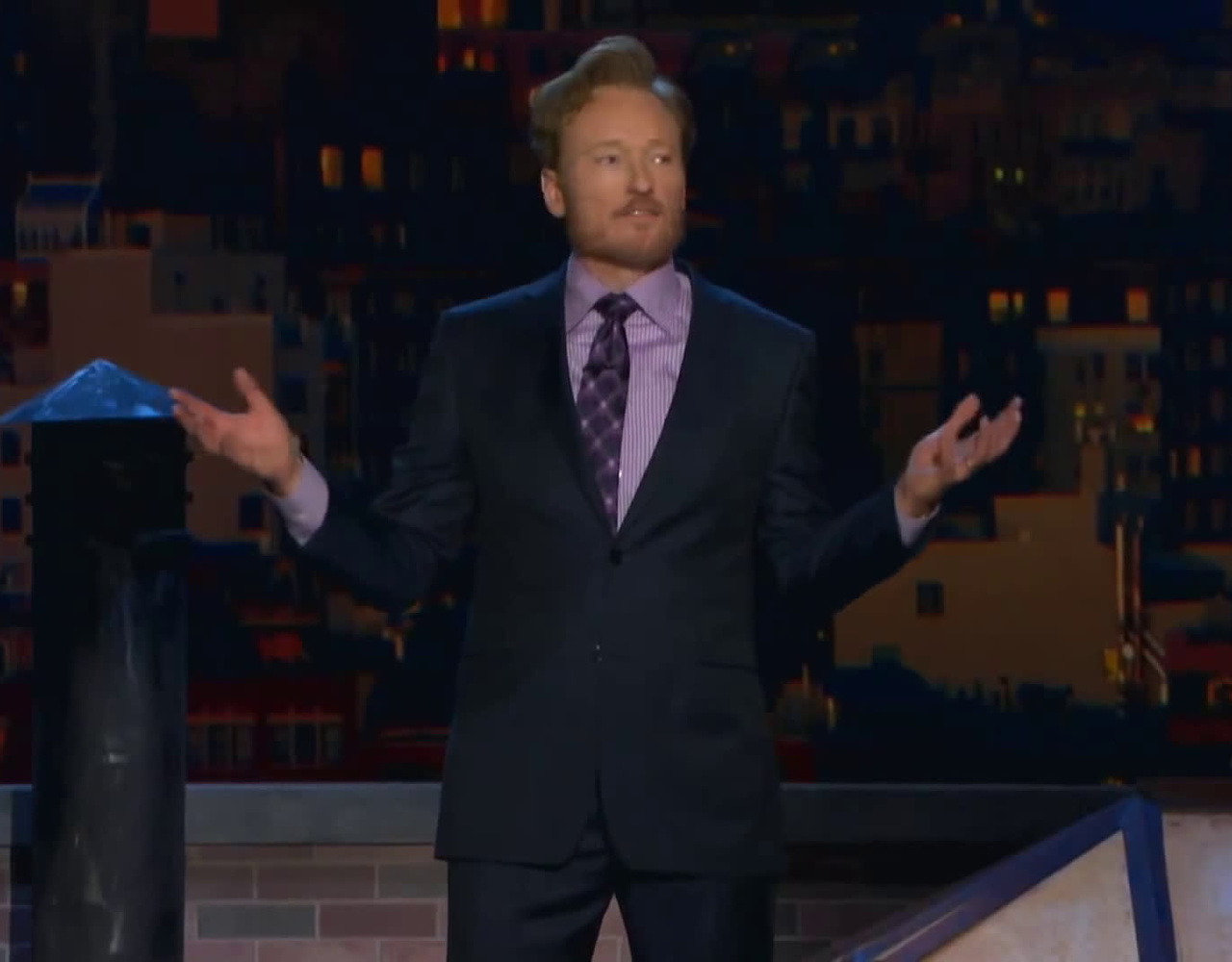 柯南秀Conan O'Brien- NYC Pedicab Driver