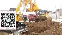 凯澳挖掘机改装液压钻机挖桩打孔视频1866327  0963