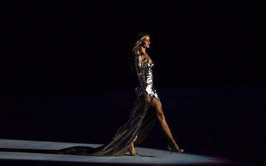 【里约奥运会】吉娘娘《吉赛尔·邦辰》走秀