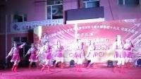 林南快乐女子舞蹈队表演的藏族舞蹈【最美的歌唱给妈妈】月满中秋  家园情浓