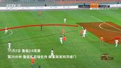 足球之夜:专业分析山东鲁能队进攻特点!令人揪心的国足明显进步