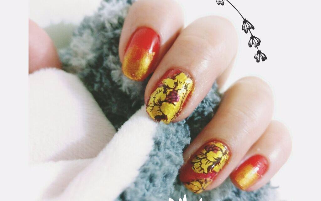 【胭脂】新年美甲~红红火火