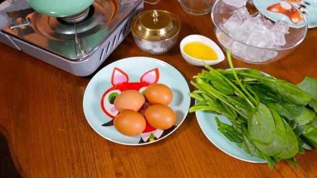 美豆爱厨房之菠菜鸡蛋糕
