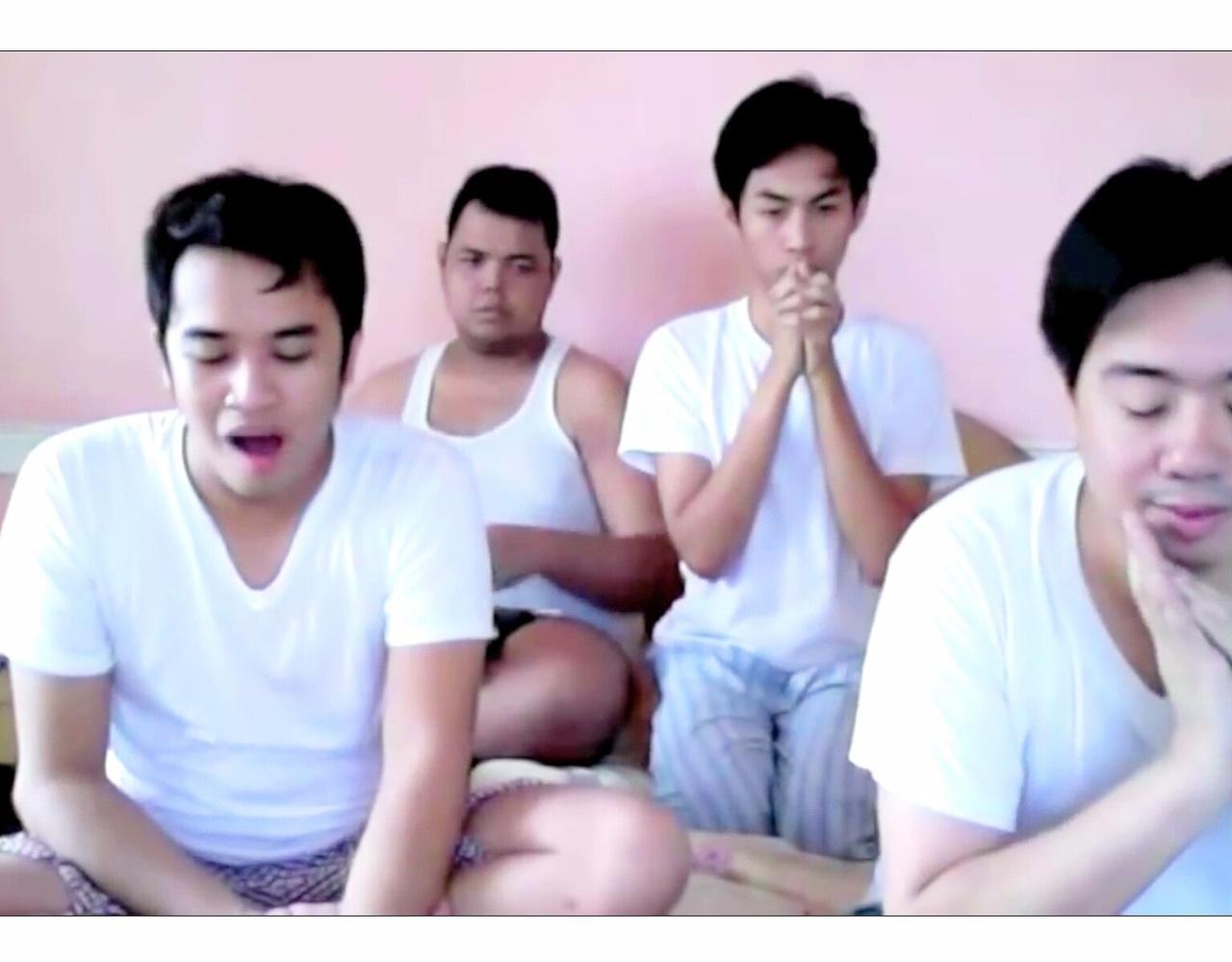 【高能慎入】当傻白四人组观看自家爱豆得奖时的反应