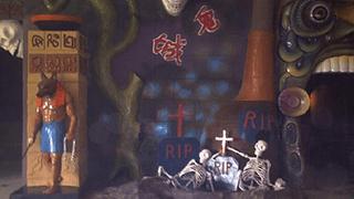 尼克儿童频道:万圣节的鬼屋