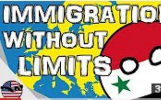 国家球 欧洲与难民