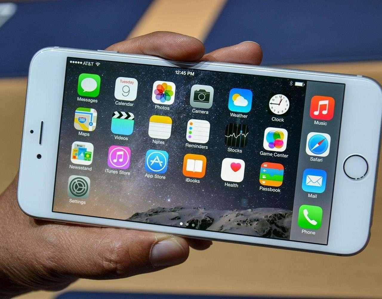 如何让 iPhone 6P 变成横屏