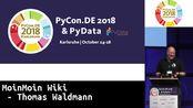 PyCon.DE 2018: MoinMoin Wiki - Thomas Waldmann