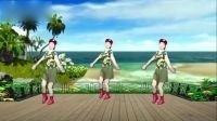 卢清秀广场舞《美丽的遇见》正反面演示编舞:杨丽萍