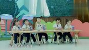 超能幼稚园 俞灏明韩沐伯表演猴子, 一下子把课堂带动起来了
