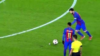 梅西十大不可阻挡进球!看看门将反应如何
