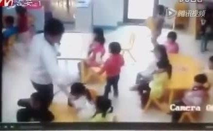 幼儿园教师手段虐童