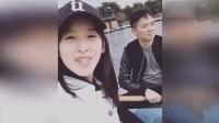 奶茶妹妹章泽天和刘强东划船游玩, 章泽天说了一句话秀恩爱