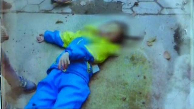邵阳隆回一学校保安吸毒致幻 用尖刀刺伤小学生头部