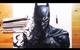 彩铅/蝙蝠侠