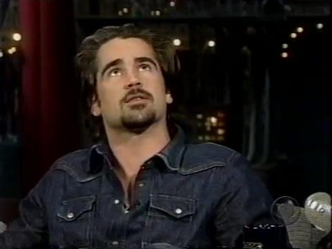 【大卫莱特曼晚间秀】Colin Farrell 科林法瑞尔 【上古画质】2004