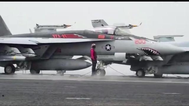 美军卡尔·文森号航母打击群为什么选择15日抵达朝鲜半岛海域?