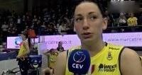 女排欧冠决赛赛后采访.