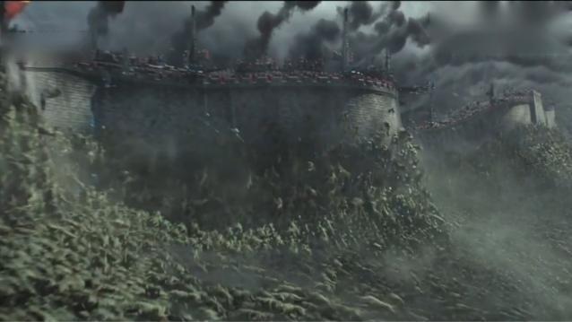 原来建长城是为了打怪兽啊
