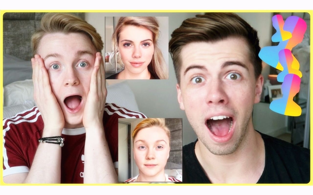 [Dan&Jon] 用FaceApp变身妹纸吧 I WANT TO BE A GIRL - FACEAPP