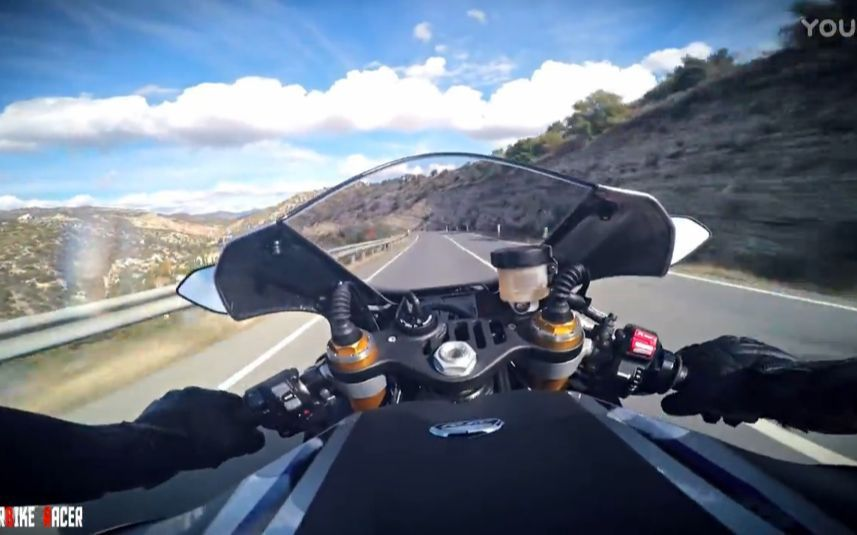 Yamaha R1M 跑山第一视角