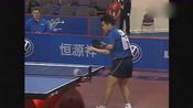 回顾:经典乒乓球比赛,刘国正VS格鲁伊奇,大佬就是大佬