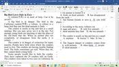 高考英语阅读理解文章自然类 秃鹫