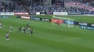 马磊磊澳超首秀破门难救主 巴利沙创进球纪录
