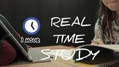 开学回归 | 图书馆自习 | 雨声bgm | 实时学习1h | STUDY WITH ME | REAL TIME STUDY | 专注高效upupup