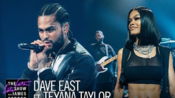 【欧美嘻哈现场】Dave East和Teyana Taylor做客柯登深夜秀,现场演唱新歌《Need A Sign》