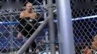 WWE兰迪奥顿参加地狱牢笼大赛