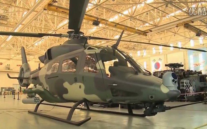 南朝鲜LAH轻型攻击直升机