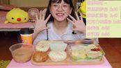 【0 贰 8】【大家中秋快乐呀~ 没有月饼的非典型性中秋吃播哈哈】【巨无敌好吃的肠粉+一些奇奇怪怪的包几+豆浆=健康又满足的一期】