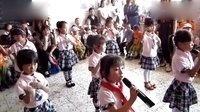 南留庄小博士幼儿园 学前班和大班  英文歌伴舞<一闪一闪亮晶晶>