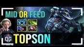 Topson - Luna | MID of FEED | ULTRA KILL | Dota 2 Pro MMR Gameplay
