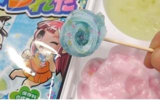 """【杏乾兒搬运】教你制作食玩波子汽水味钓软糖~""""。"""""""